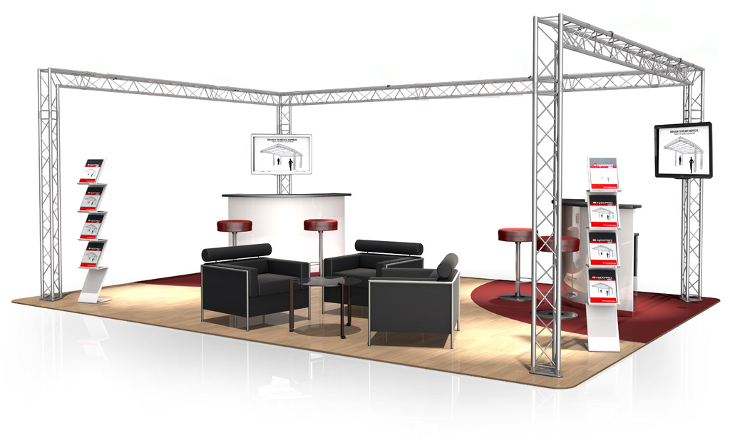 Jms sonorisation concert dj location congr s stand for Exemple de stand